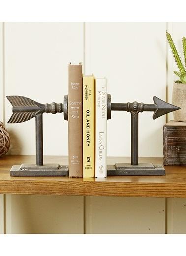 Ok Görünümlü Kitap Tutucu-Warm Design